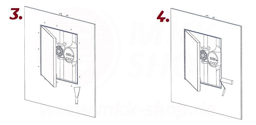 premium revisionsklappe wartung inspektionsklappe feuchtraum druckver. Black Bedroom Furniture Sets. Home Design Ideas