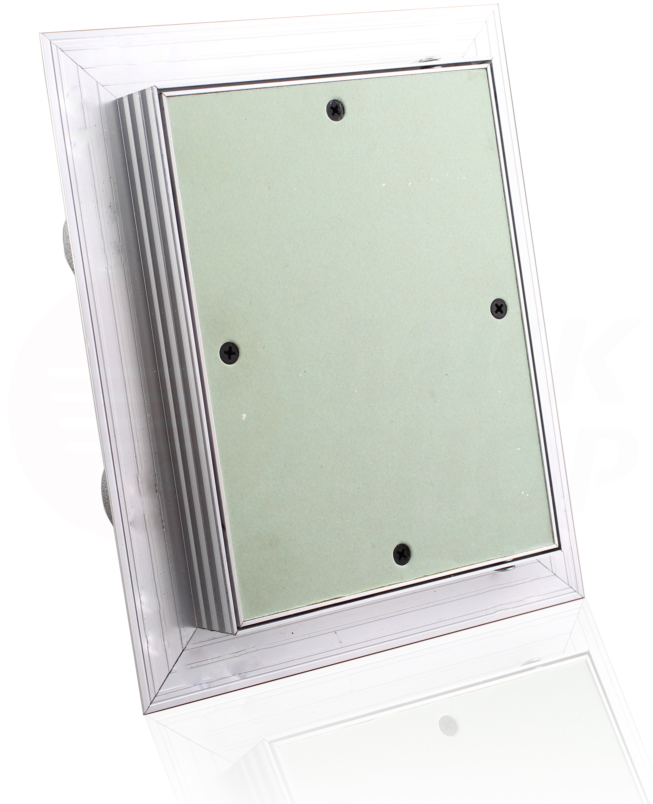 Revisionsklappe 15 x 30 cm GK-Einlage Gipskarton Revisionstür Wartungstür Alu