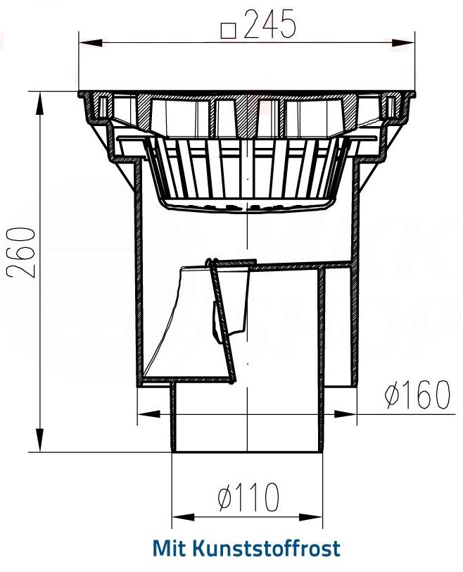 guss kunststoff hofablauf gartenablauf bodenablauf dn100 160 bis 12 5t tragkraft ebay. Black Bedroom Furniture Sets. Home Design Ideas