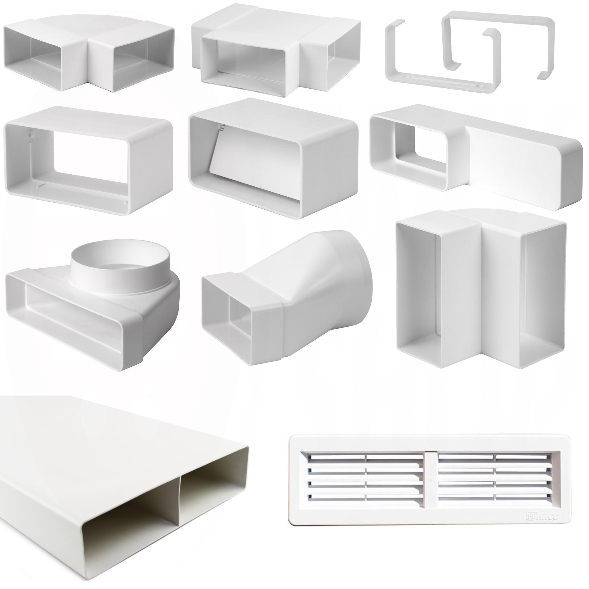 l ftungskanal flach kunststoff klimaanlage und heizung. Black Bedroom Furniture Sets. Home Design Ideas