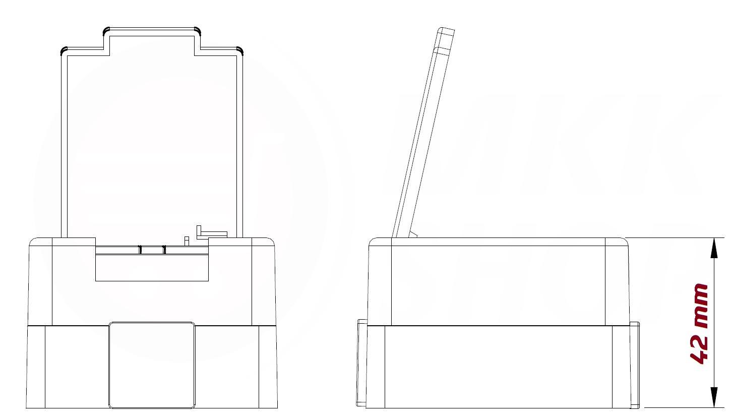 aufputzsteckdose feuchtraumsteckdose schalter schuko steckdose feuchtraum ip44 ebay. Black Bedroom Furniture Sets. Home Design Ideas